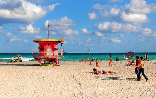 Clima em Miami no Inverno