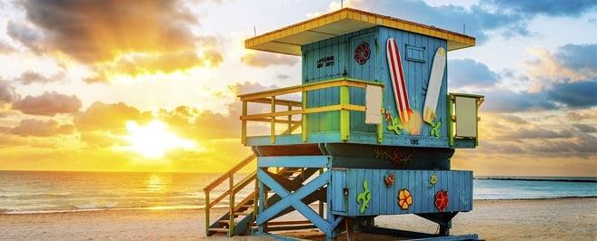 clima e temperatua em Miami