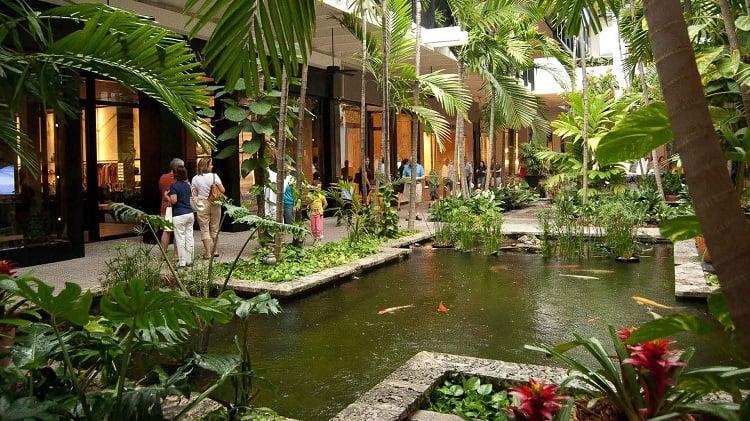 Shoppings mais sofisticados e de luxo em Miami