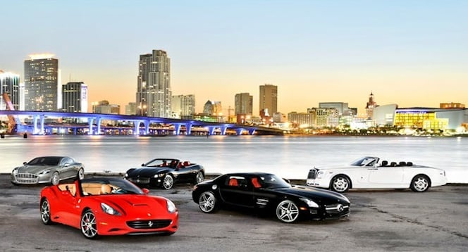 Comparadores de aluguel de carro em Miami