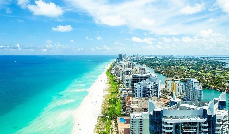 Serviço de aluguel de carro em Miami