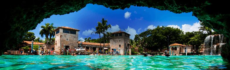 Pontos turísticos em Coral Gables em Miami