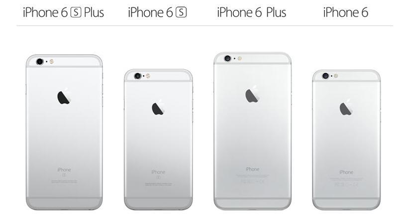 Diferença do iPhone 6 x iPhone 6 Plus
