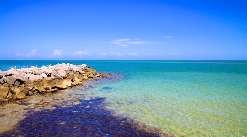 Parque Natural Bill Baggs em Key Biscayne Miami