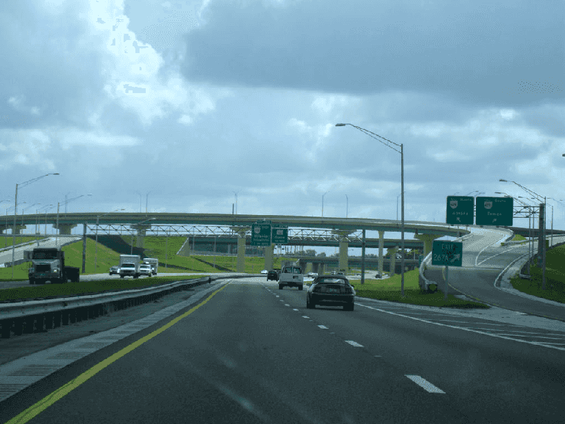 Estrada de Miami a Orlando