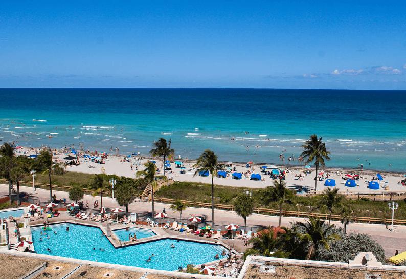 Hotel em Hollywood Beach em Miami