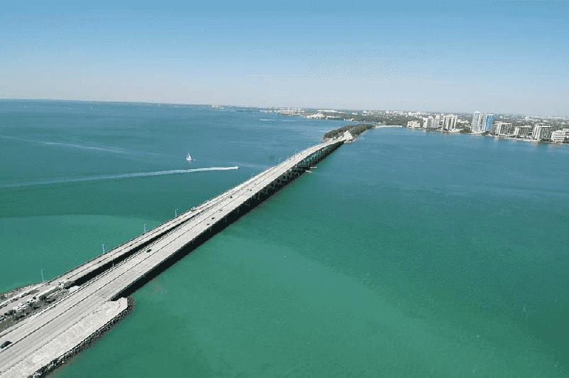 Ilha Key Biscayne em Miami