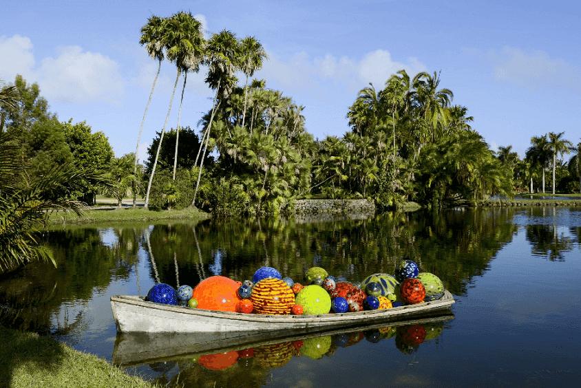 Lua de mel no Fairchild Tropical Garden em Miami