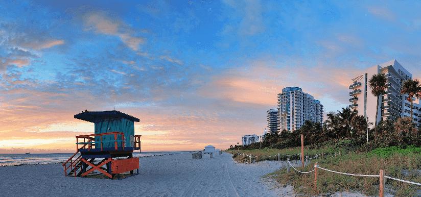 Passeio por South Beach em Miami