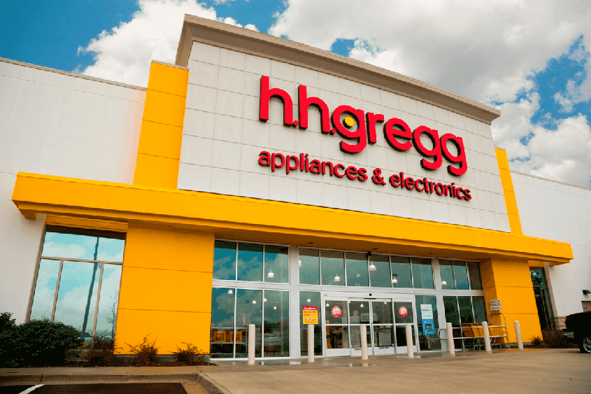 Loja Hhgregg de produtos eletrônicos em Miami