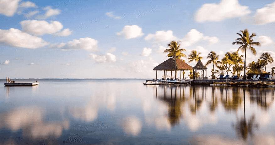 Ilha de Key Largo na Flórida