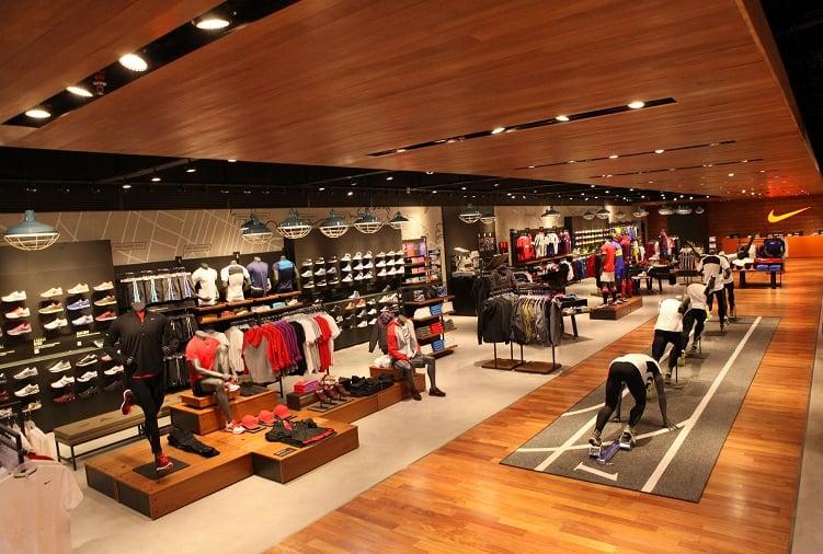 Lugares onde estão as lojas da Nike em Miami