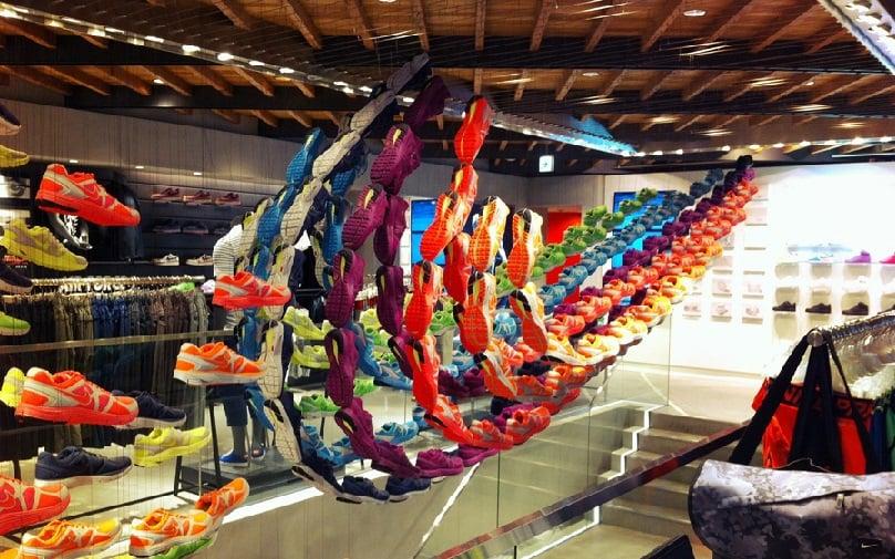 Compras nas lojas da Nike em Miami