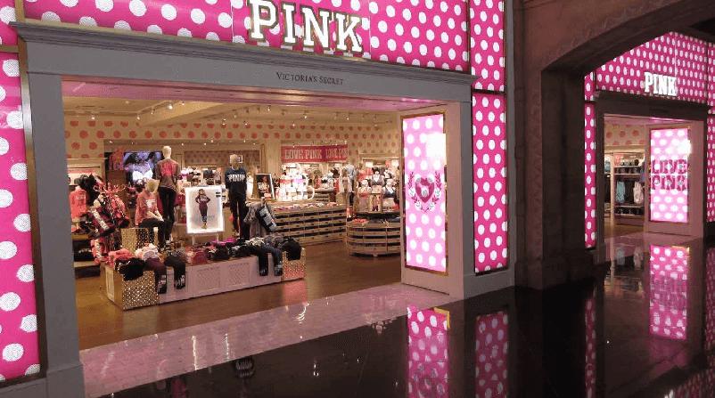 A marca Pink da Victoria's Secret em Miami