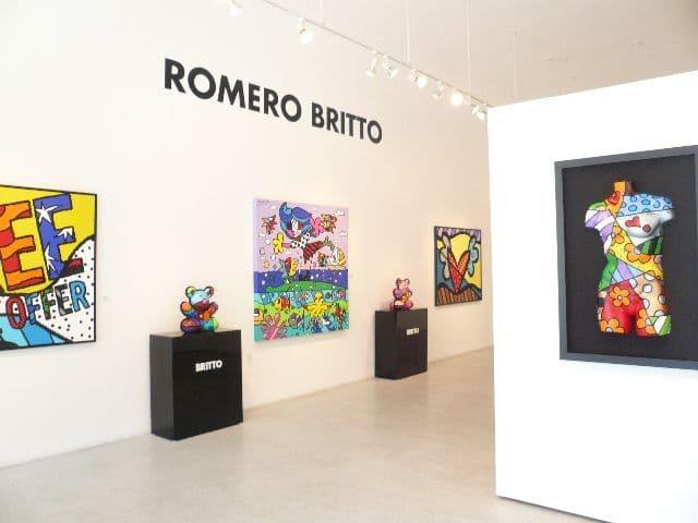 Tudo sobre a galeria de arte do Romero Britto em Miami