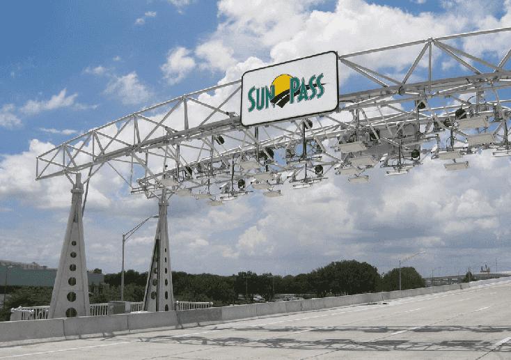 Sunpass, pedágios e pistas expressas em Miami