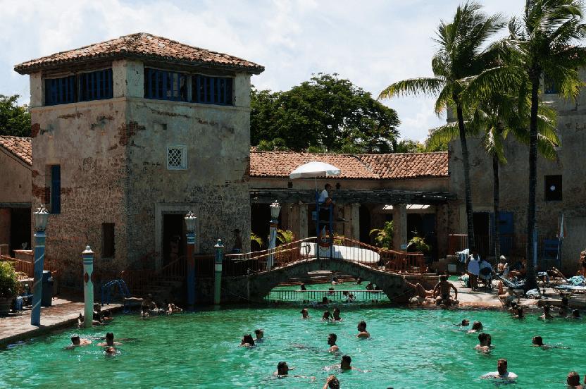 Venetian Pool em Coral Gables