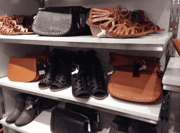 Lojas de sapatos de marcas famosas em Miami