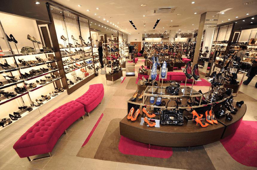 Lojas de sapatos em Miami