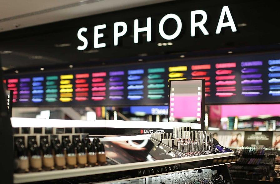 Marcas mais vendidas na loja Sephora em Miami