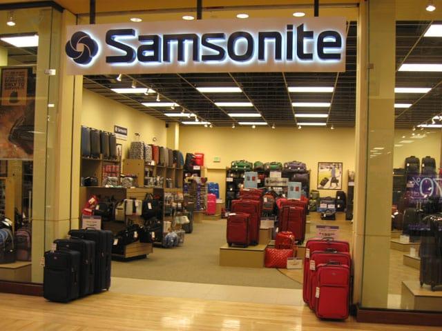 Loja de malas Samsonite em Miami