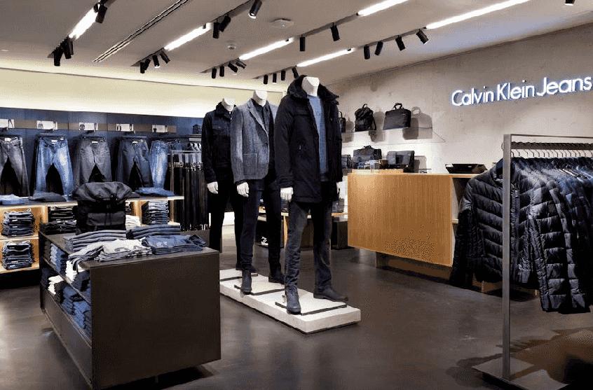 Compras nas lojas Calvin Klein em Miami