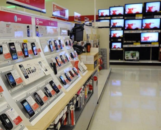 Lojas Target e Walmart em Miami