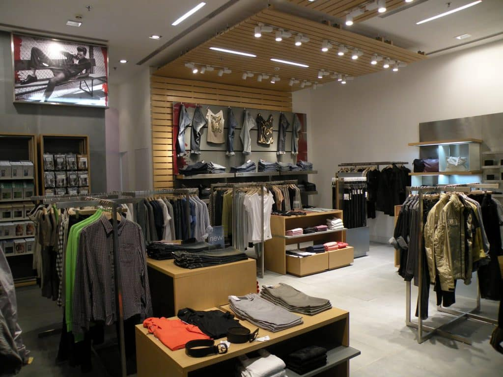 Loja Calvin Klein para as mulheres em Miami