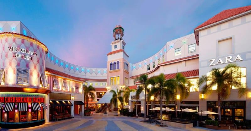Melhores lugares para compras em Miami