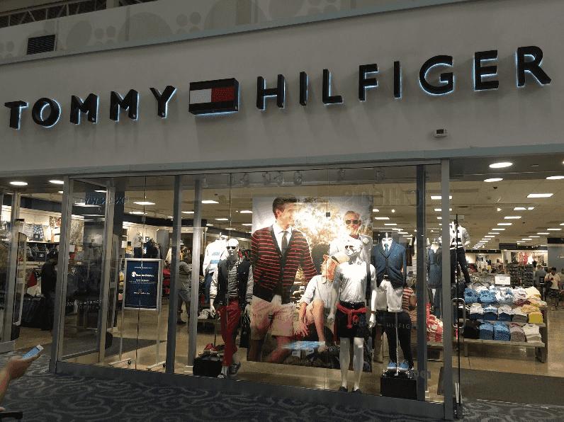 Lojas da Tommy Hilfiger em Miami