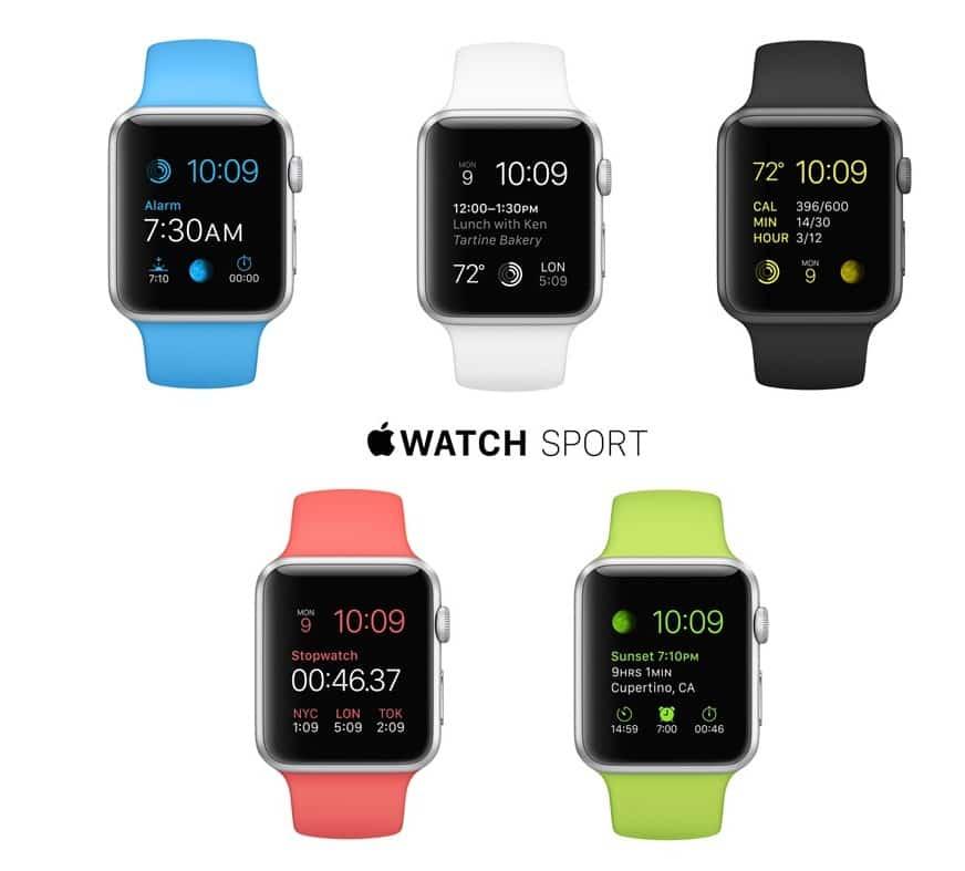 Relógios GPS para correr da Apple em Miami