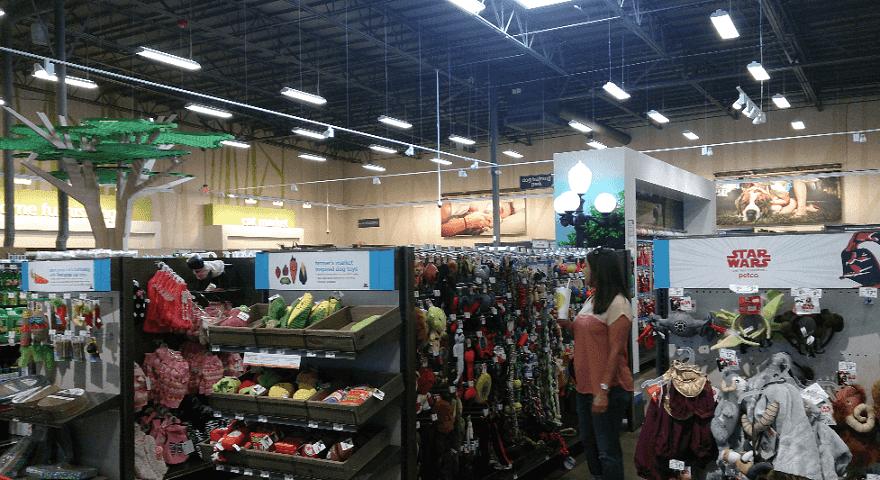 Compras no Pet Shop PetCo em Miami
