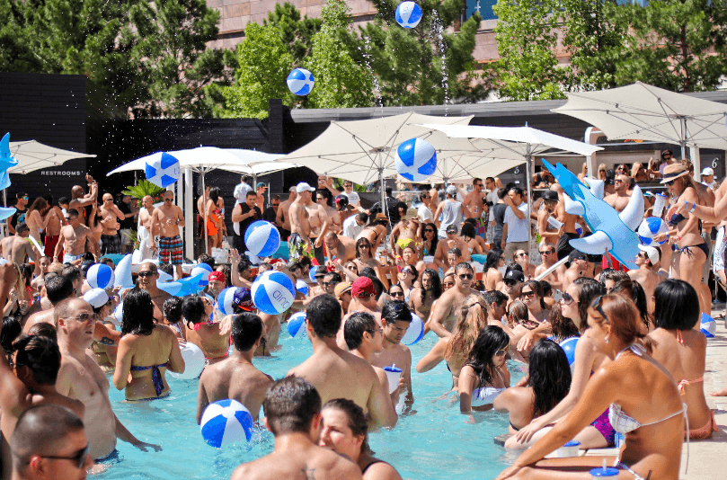 Pool parties em Miami