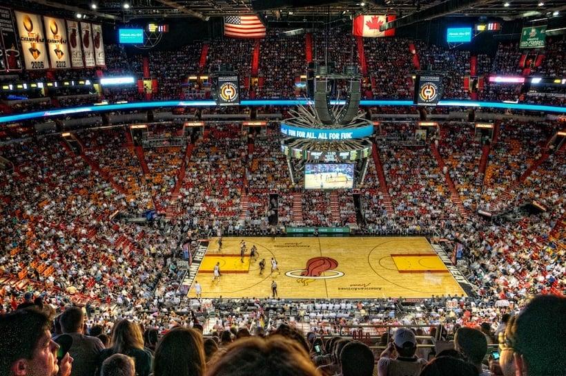 Assistir a um jogo da NBA em Miami