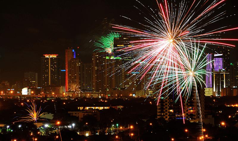 Natal e Ano Novo em Miami