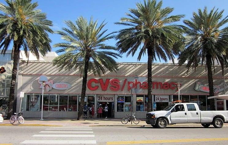 Farmácias CVS para compras em Miami