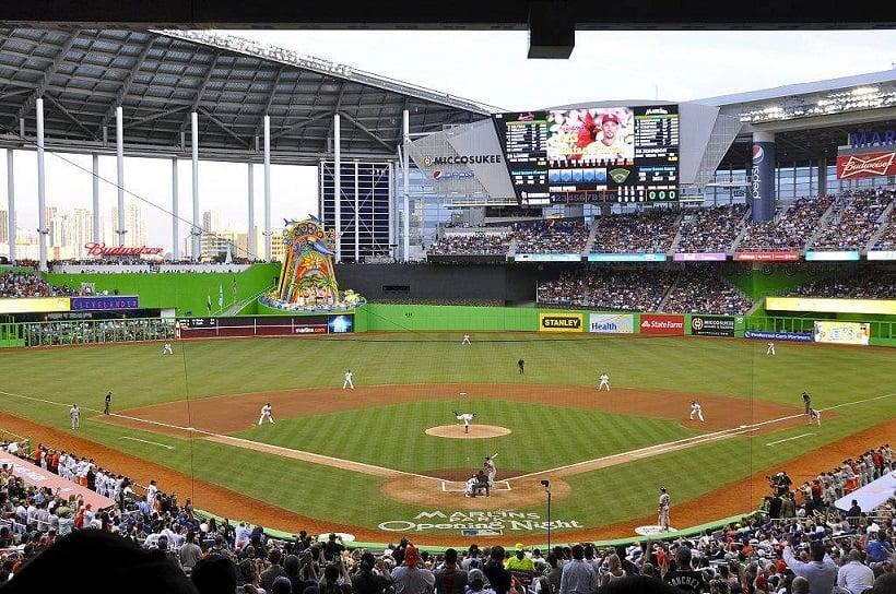 Compra de ingressos para jogos de beisebol em Miami