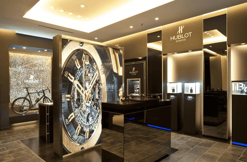 Compras de relógios nas lojas das próprias marcas em Miami