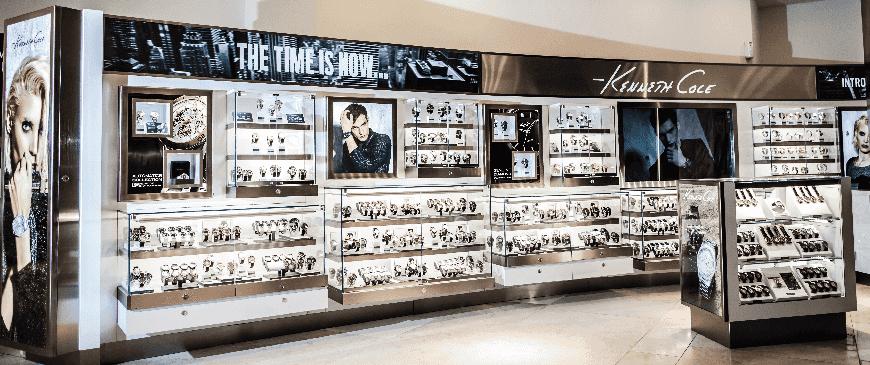 Compras de relógios em Miami