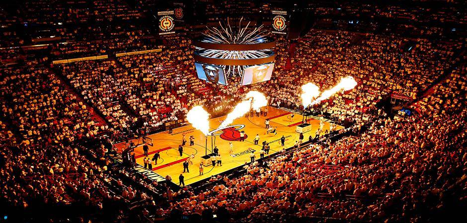 American Airlines Arena em Miami: jogos da NBA em Miami