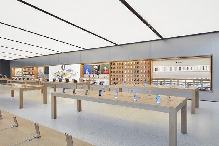Loja de eletrônicos Apple em Miami