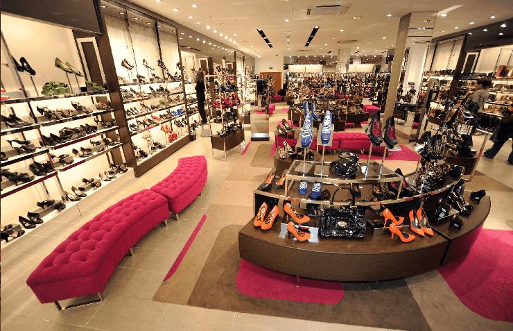 Comprar sapatos nos shoppings em Miami
