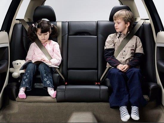 Cuidados com as crianças nos carros em Miami