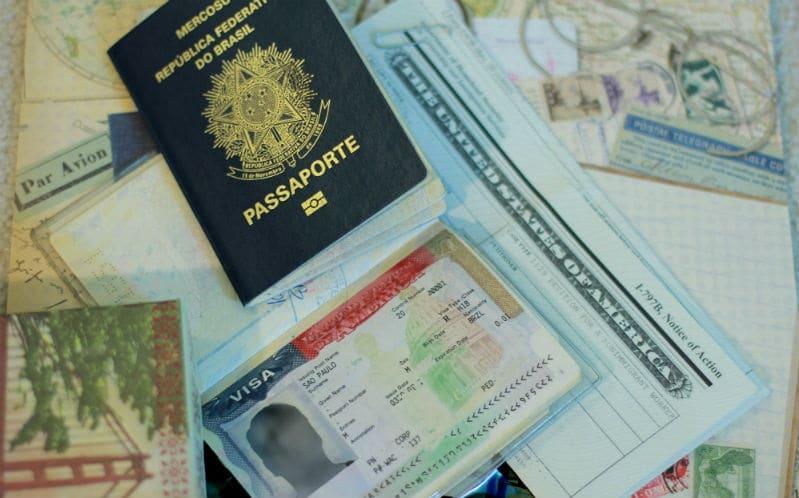 Documentos para viajar para os Estados Unidos