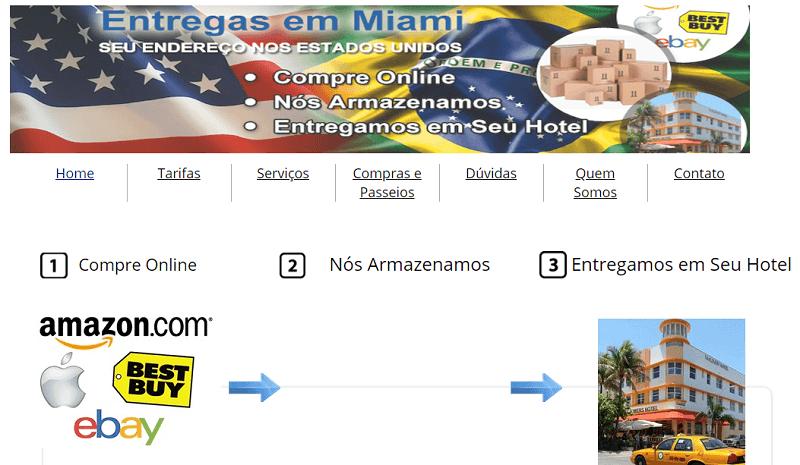 Site para aderir o serviço que te livra de taxa e IOF nas compras em Miami