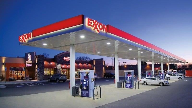 Principais postos de gasolina nos Estados Unidos