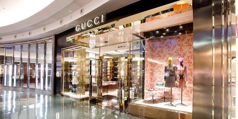 Endereços das lojas Gucci em Miami e Orlando