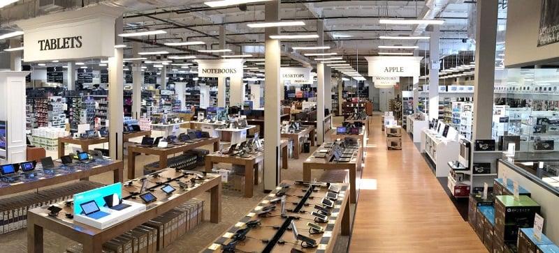 Loja de eletrônicos em Miami na Flórida