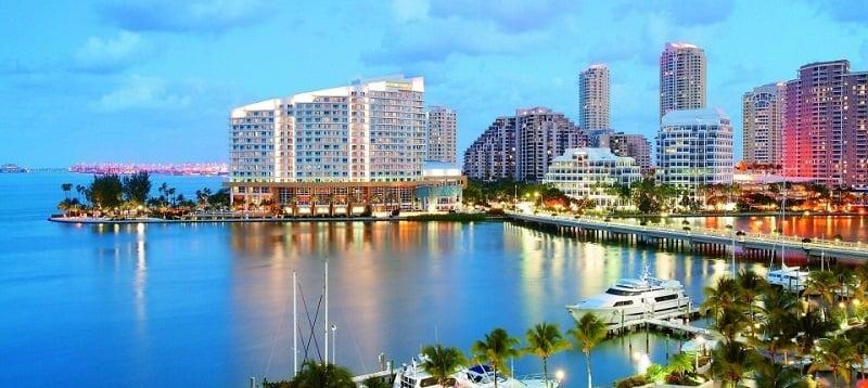 Clima em Miami em julho