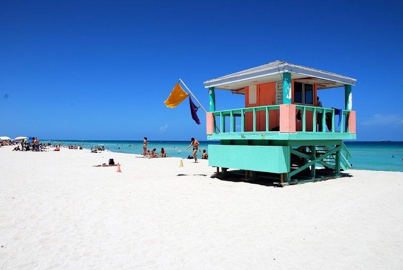 Clima em Miami em maio
